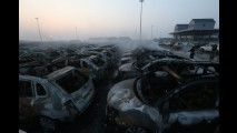 VW, Fiat, Hyundai e Renault perdem milhares de veículos em explosão na China