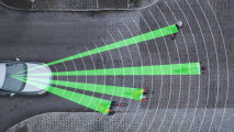 Protezione predittiva e frenata automatica pedoni