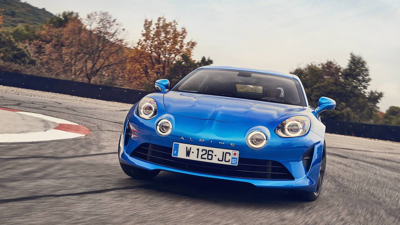 2018 alpine a110 first drive a legend now as then. Black Bedroom Furniture Sets. Home Design Ideas