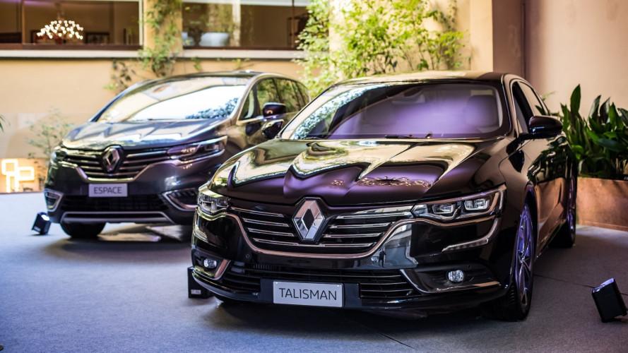 Renault Talisman ed Espace Executive, quelle per le flotte
