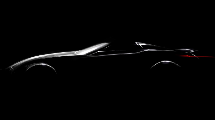 BMW, la prima immagine della nuova roadster