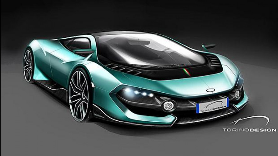 Torino Design, la supercar in incognito debutta a Parco Valentino