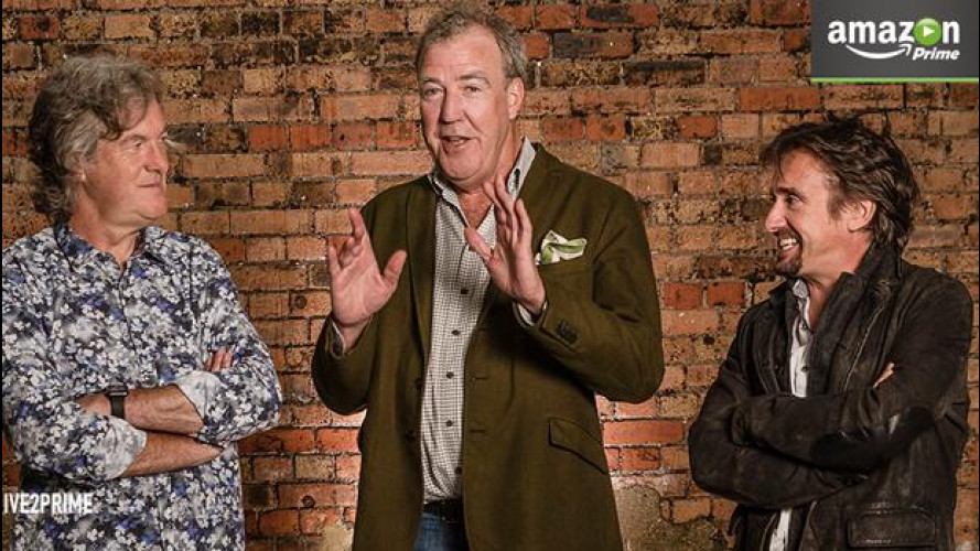 Jeremy Clarkson sfida Top Gear insieme ad Amazon Video
