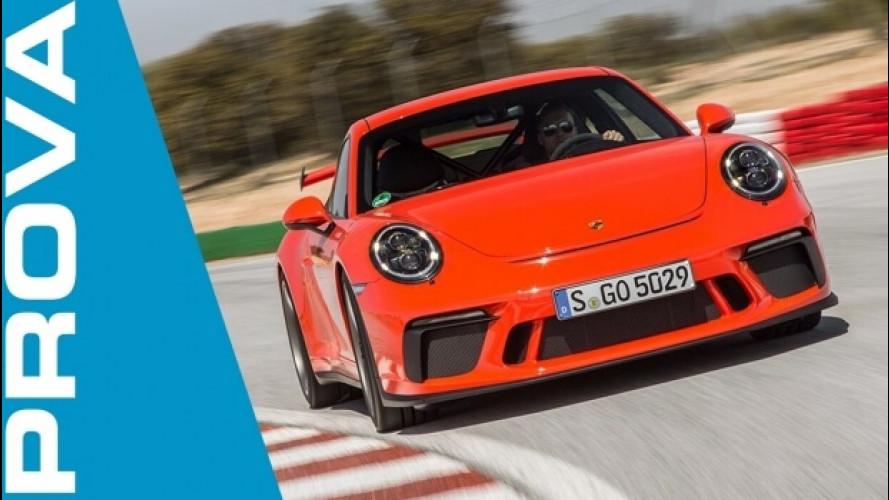 Nuova Porsche 911 GT3, la prova della stradale più racing che c'è