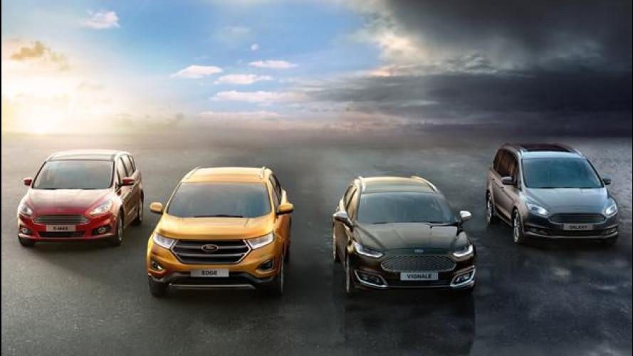 Ford punta sui SUV, tre nuovi modelli in 5 anni
