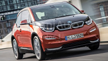 BMW i3 restyling, il rendering