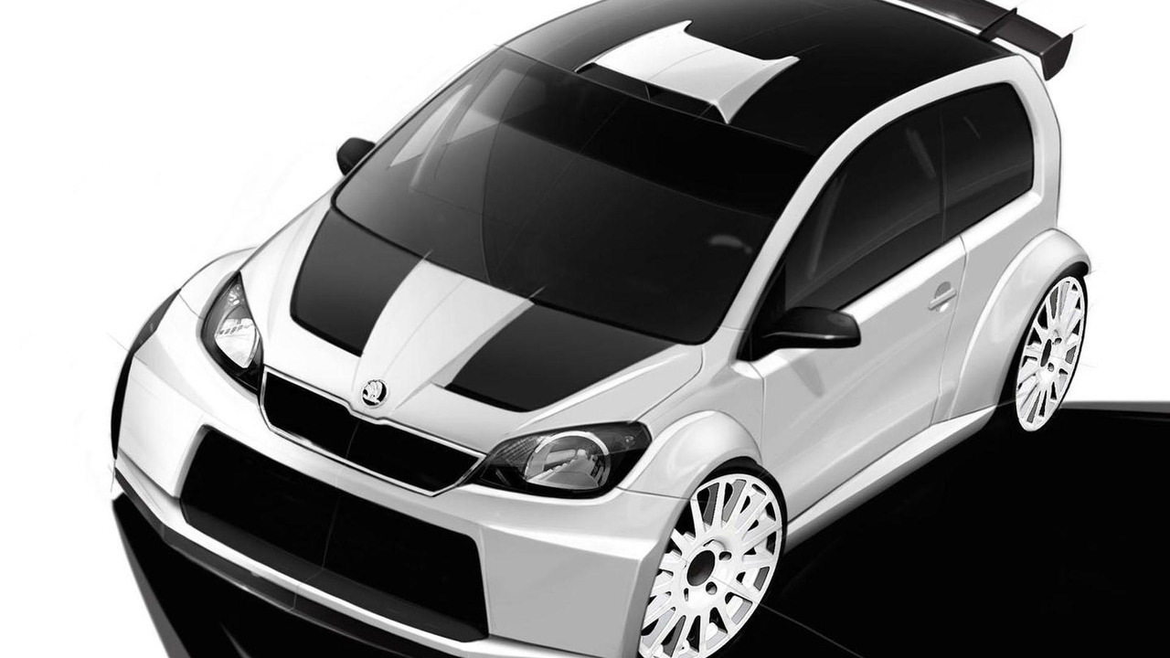 Skoda Citigo rally car concept 15.5.2012