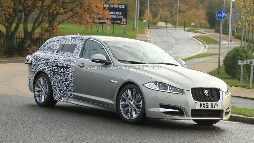 2012 Jaguar XF Sportbrake first spy photos