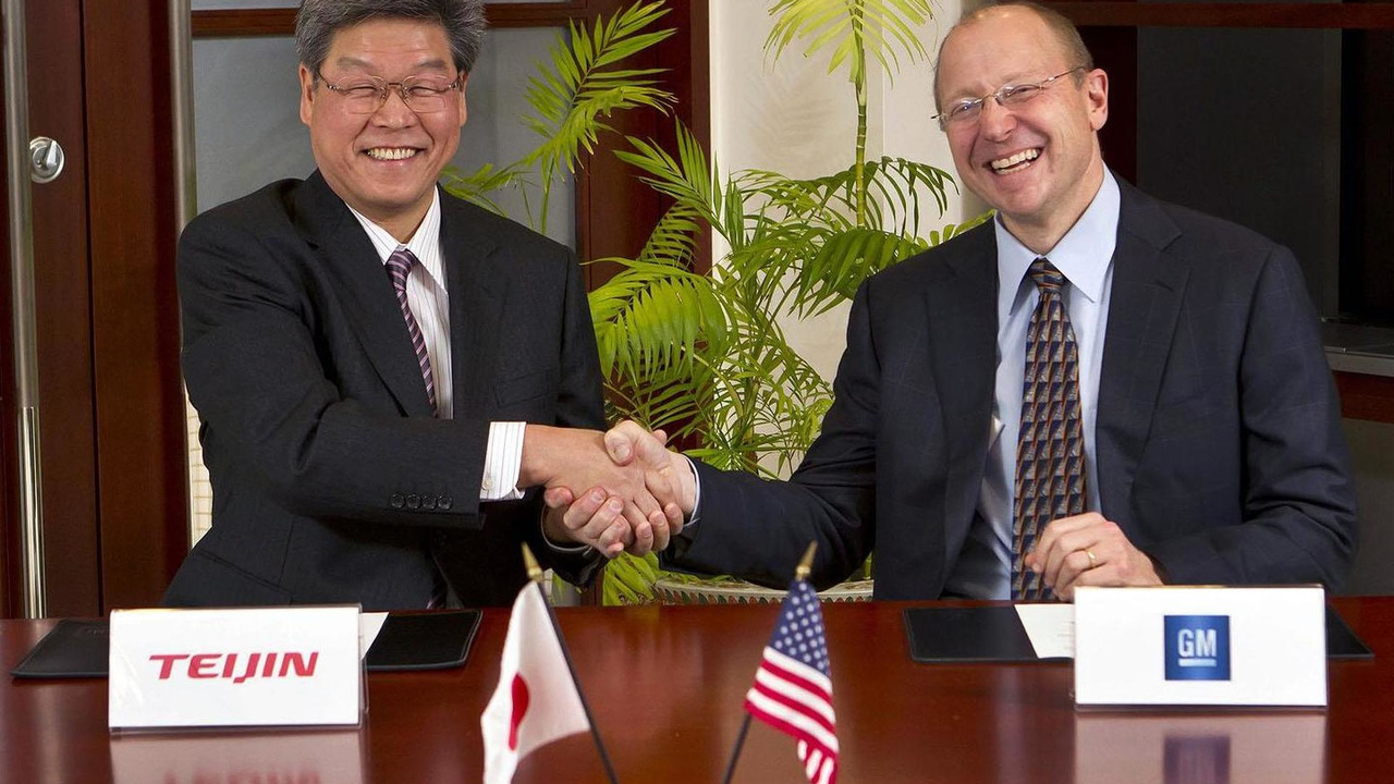 GM and Teijin carbon fiber agreement - 08.12.2011