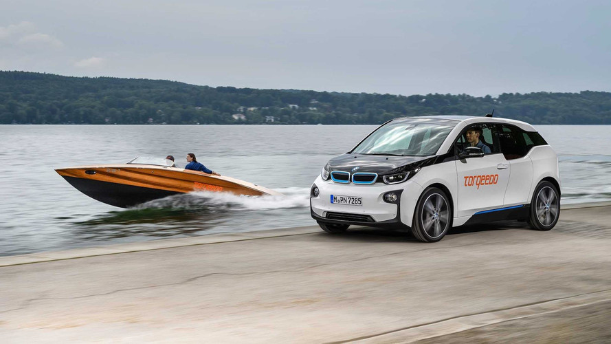 BMW i3 Lends Its Batteries To Torqeedo Electric Boats