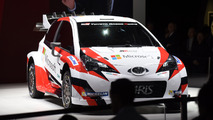 Toyota 2017 WRC return debut Paris Motor Show