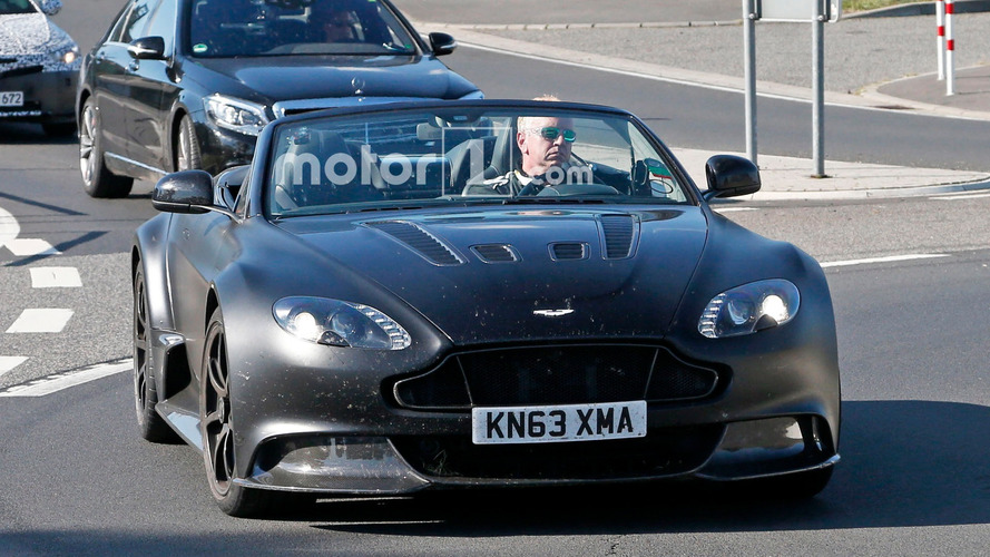 Aston Martin Vantage GT12 Roadster Spy Photos