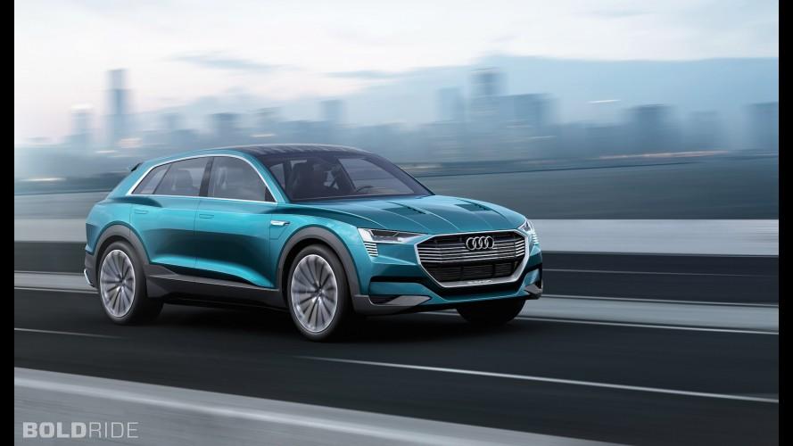 Hétfőtől előrendelhető az Audi e-tron quattro