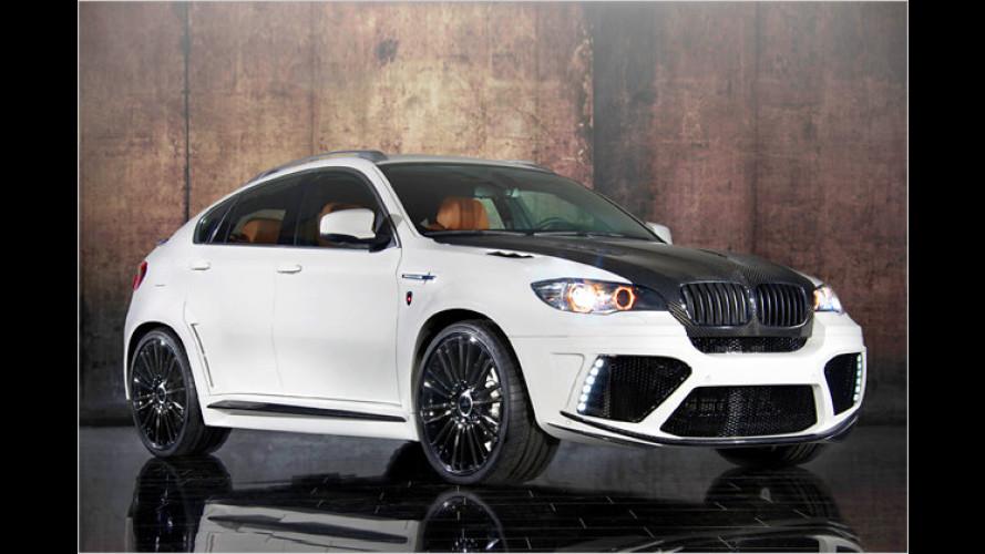 300 km/h im SUV: Mansory beschleunigt den BMW X6 M