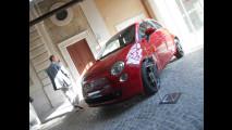 Fiat 500 al Museo Macro di Roma