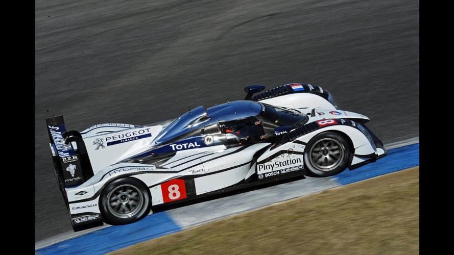 Peugeot rinuncia alla Le Mans 2012