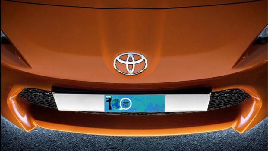 Toyota è il marchio auto più