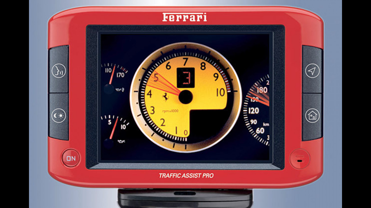 Becker Assist Pro 7929: Im Ferrari-Design