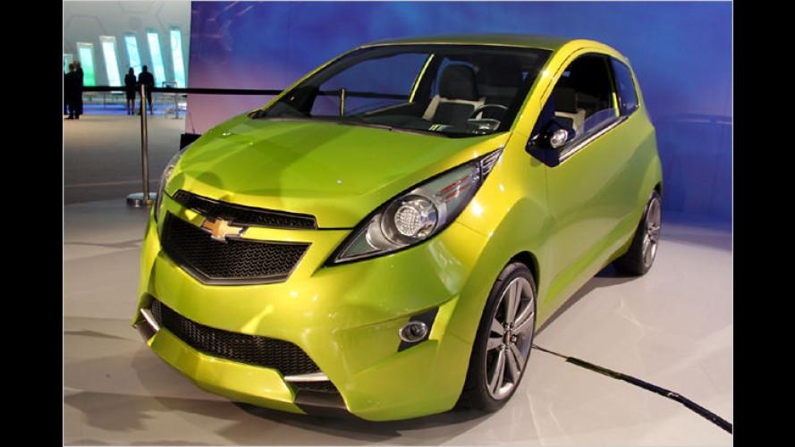 Chevrolet verwandelt Studie Beat in die Serienversion Spark