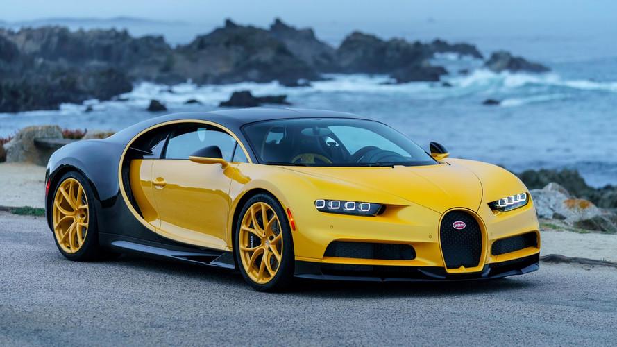Bugatti livre sa première Chiron aux États-Unis