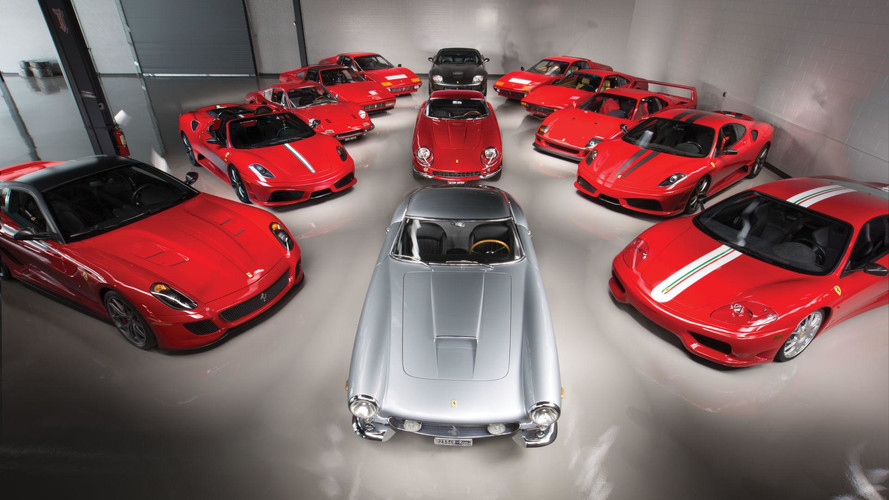 $18 Million Ferrari Collection Heading To Auction In Monterey