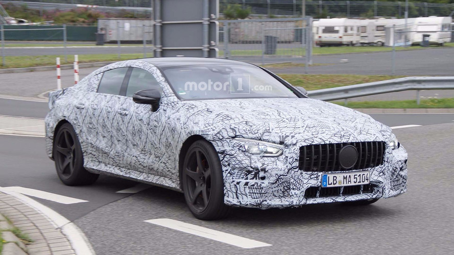 Mercedes-AMG GT Four Door Spied In More Detail