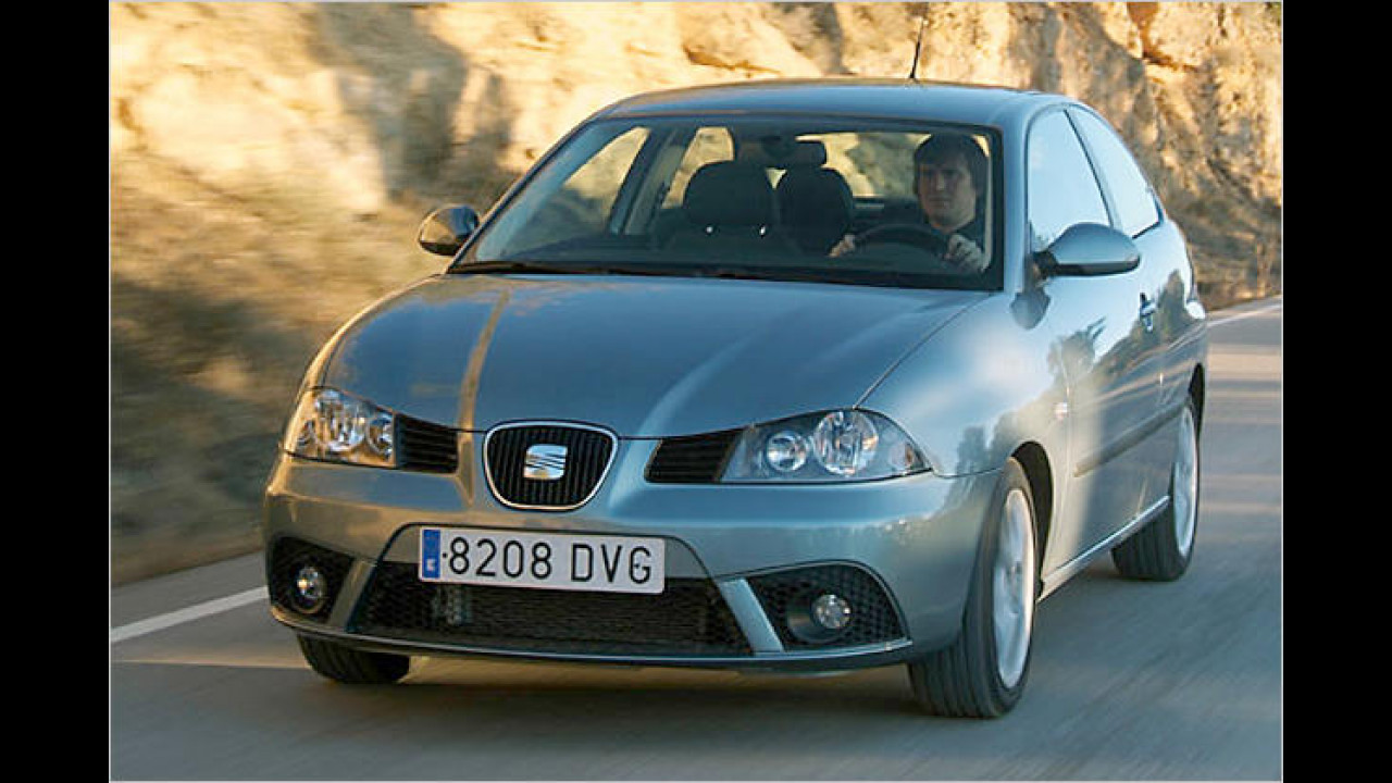 Seat Ibiza 1.4 TDI Ecomotive DPF 3-türig