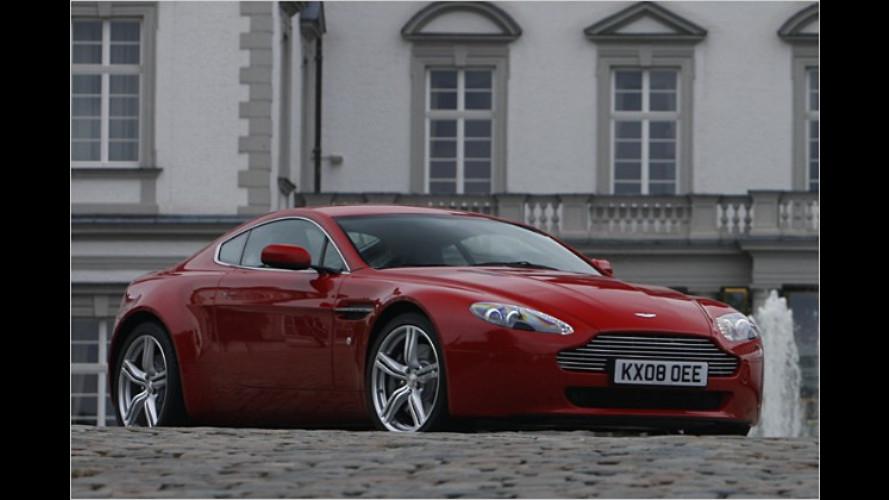 Neue Performance-Pakete für den Aston Martin V8 Vantage