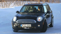 Mini Clubman Spy Photo