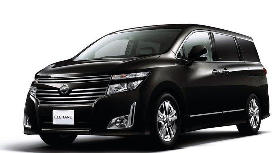 Nissan Elgrand Luxury Minivan Debuts In Japan Previews 2011 Quest