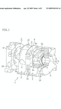 Mazda direct injection rotary engine patent diagrams