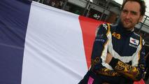 Franck Montagny (FRA), driver of A1 Team France, Brands Hatch, Fawkham, England 04.05.2008