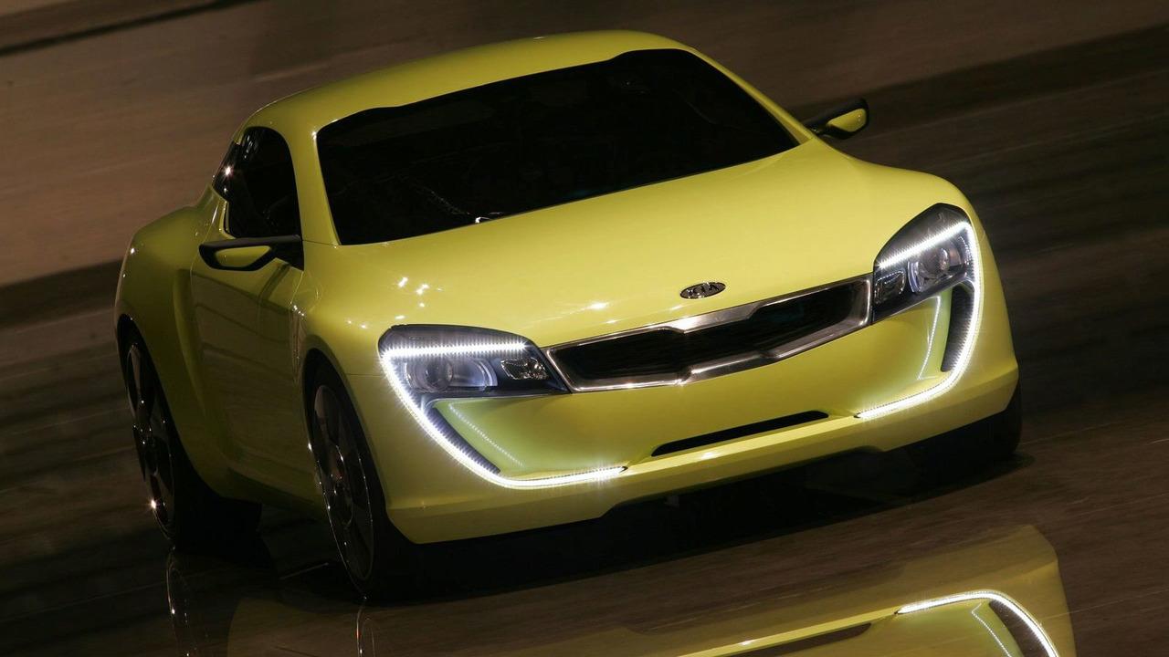 Kia coupe concepts headed for Frankfurt  Detroit  report Photo