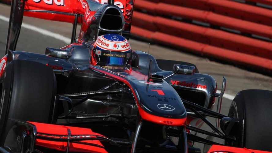 McLaren removes blown diffuser from car