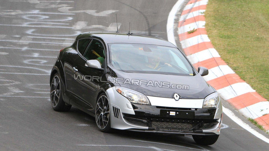Hotter Renault Megane RS special edition spied first time on Nurburgring