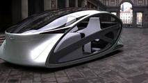 Peugeot Metromorph Concept gets vertical in student design video