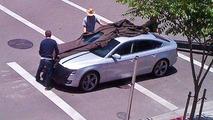 Audi A5 Sportback at Photoshoot