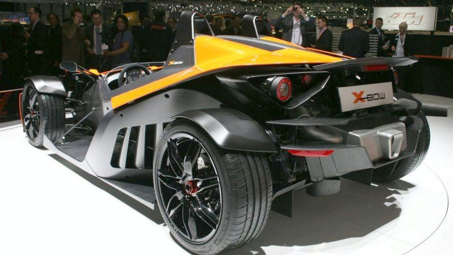 KTM X-BOW Unveiled in Geneva