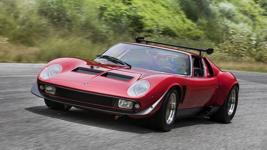 Lamborghini Fully Restores Miura SVR And It's Drop-Dead Gorgeous