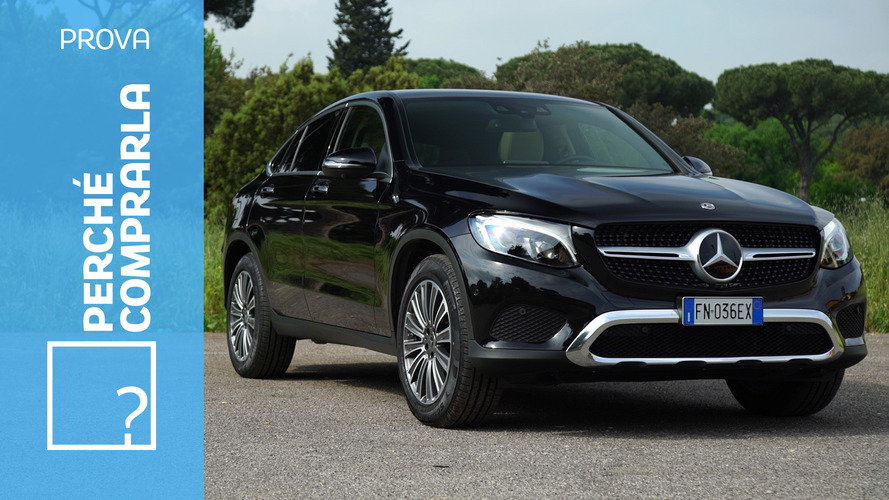 Mercedes GLC Coupé, perché comprarla... e perché no