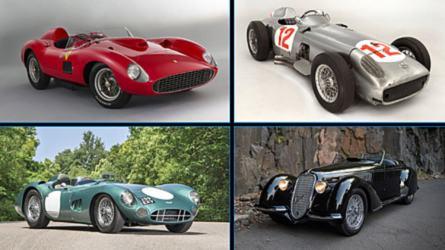 Los 10 coches más caros adquiridos en subastas