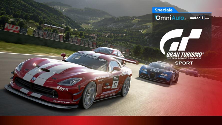 Gran Turismo Sport, la video prova della demo