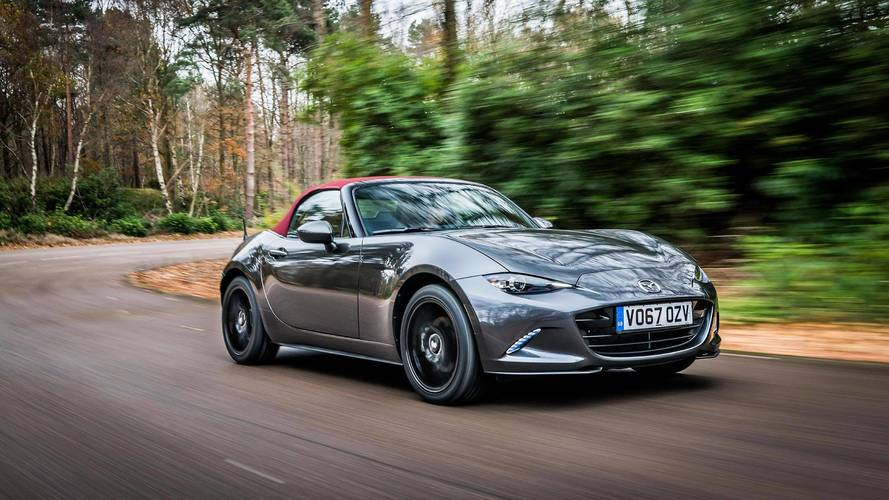 Mazda MX-5 Z-Sport Limited Edition Adds Style, But Only In UK