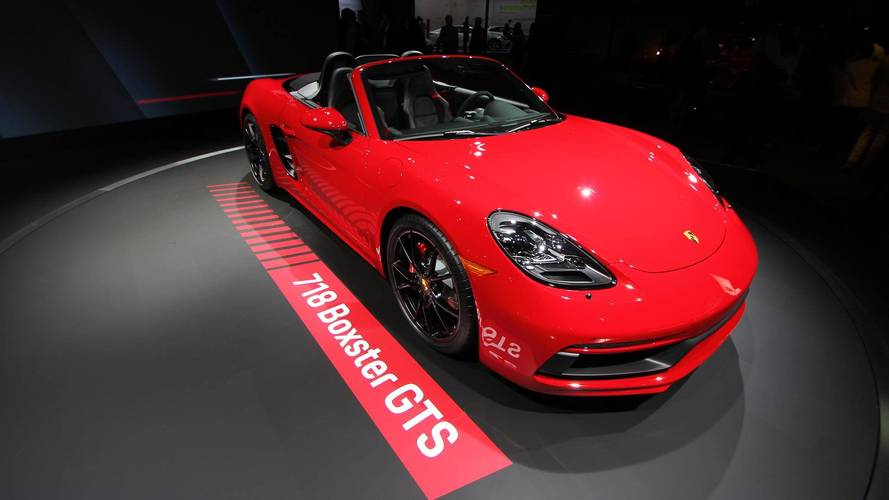 Power Up: Porsche Unveils 718 Boxster And Cayman GTS For 2018