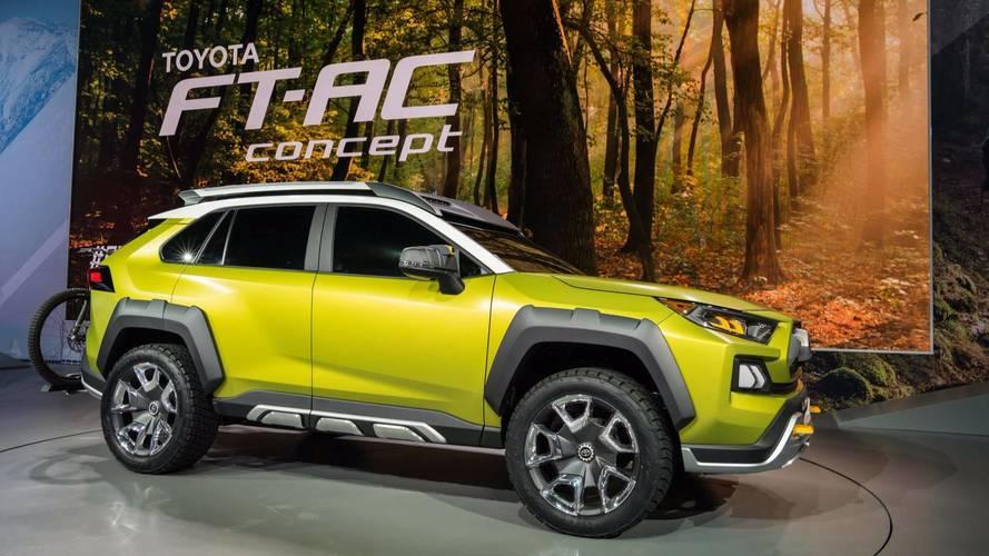 Toyota insinua que SUV conceitual FT-AC será produzido em série
