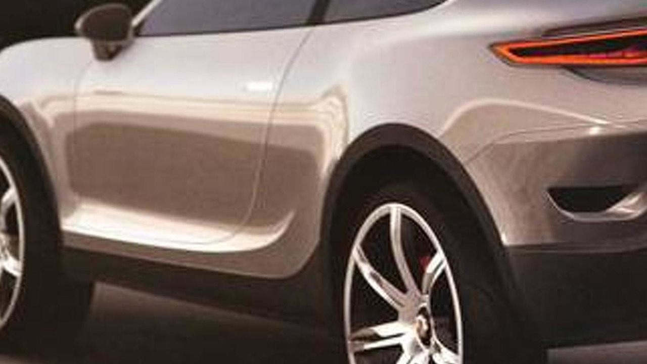 Porsche Cajun design proposal leak - 15.7.2011