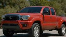 2012 Toyota Tacoma leaked photo - 19.8.2011