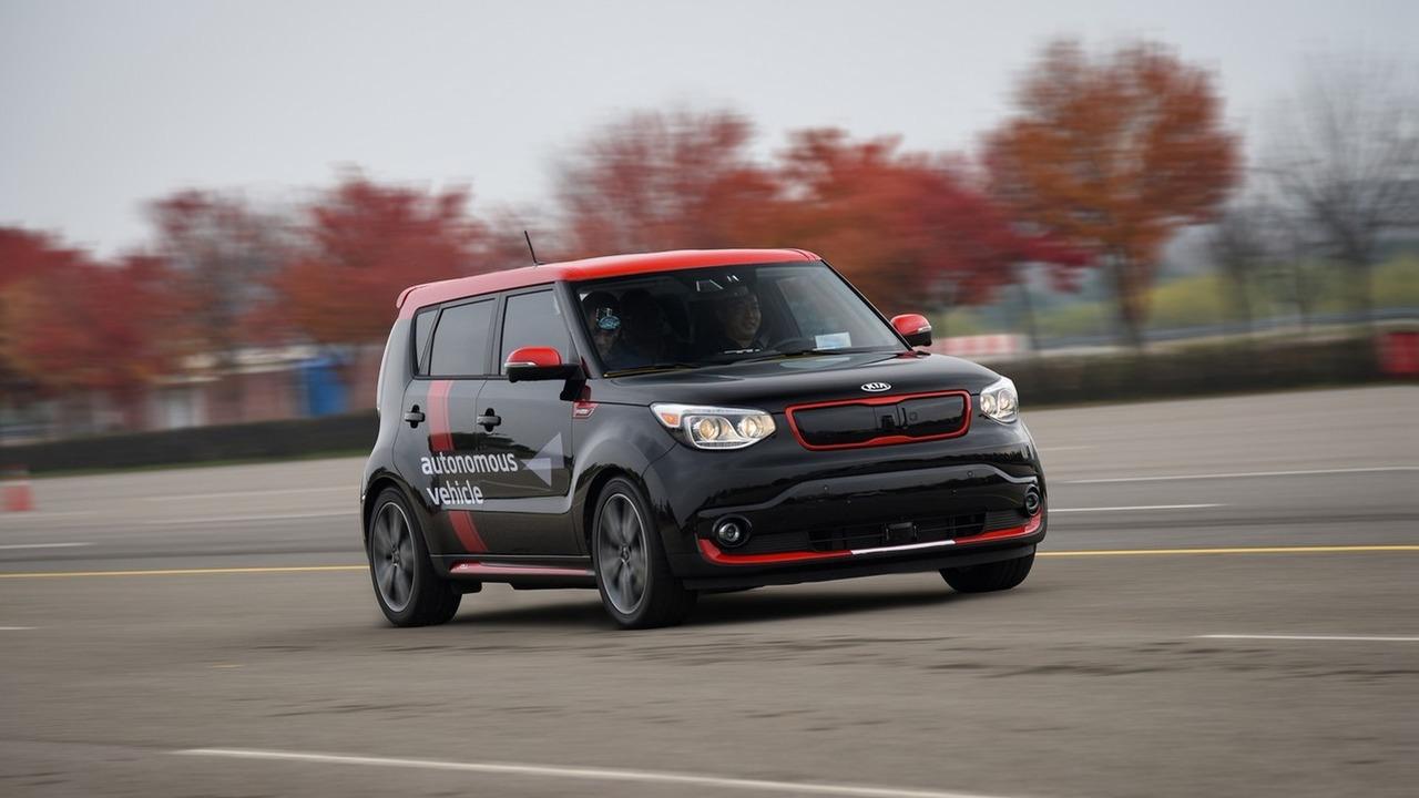 Kia Soul EV Autonomous Car