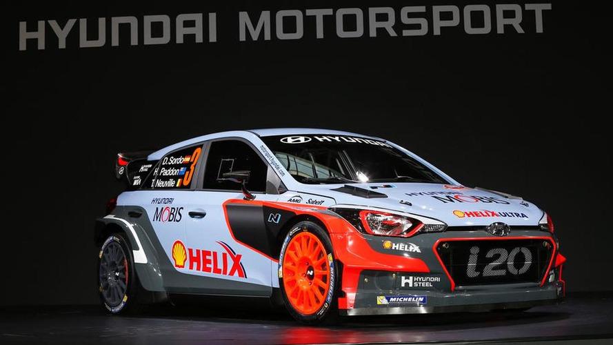 Hyundai i20 WRC is ready for 2016 season