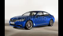 Nuova BMW Serie 5, il rendering